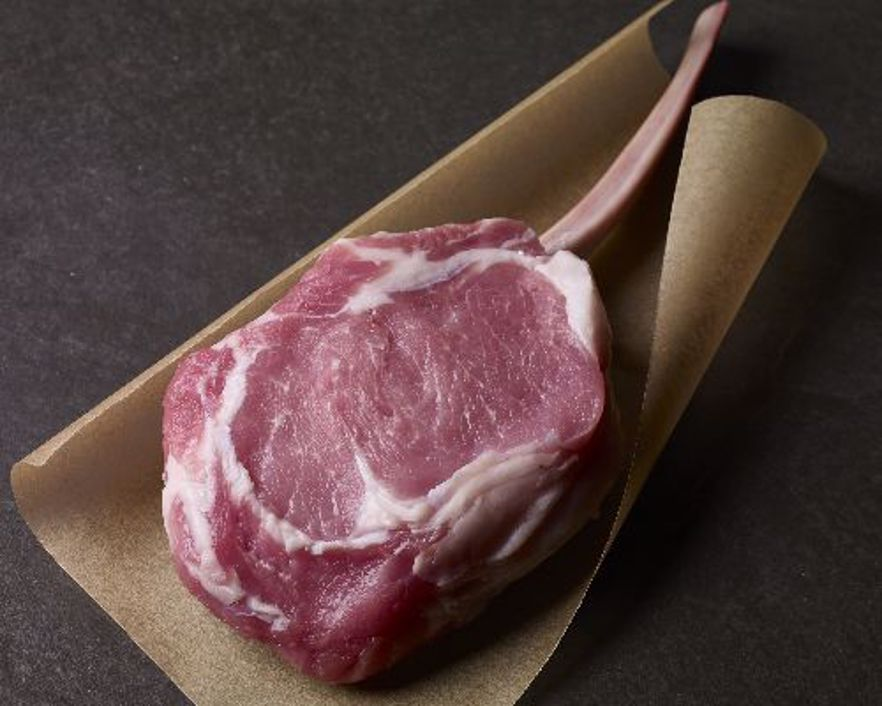 Picture of Veal Long-Bone Rib Chop