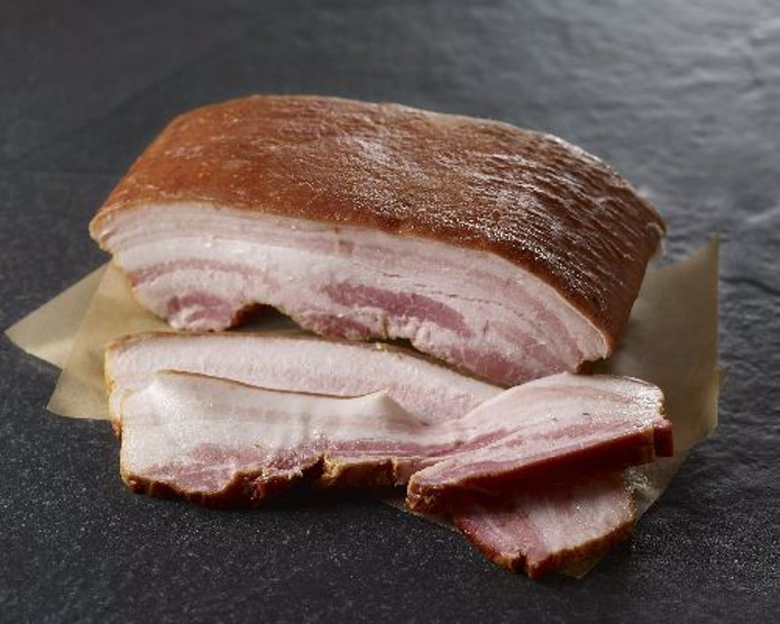 Picture of DISCONTINUED - Double Hickory Smoked Slab Bacon