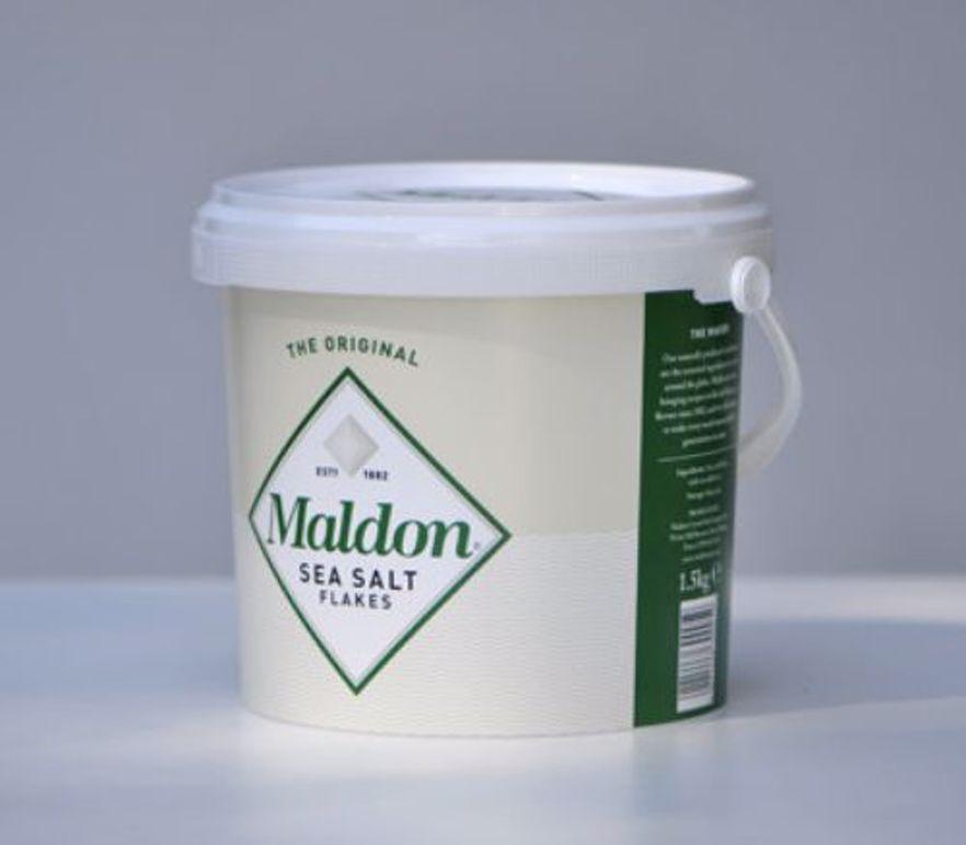 Product Reviews | DISCONTINUED Maldon Sea Salt Bucket | Maldon Sea