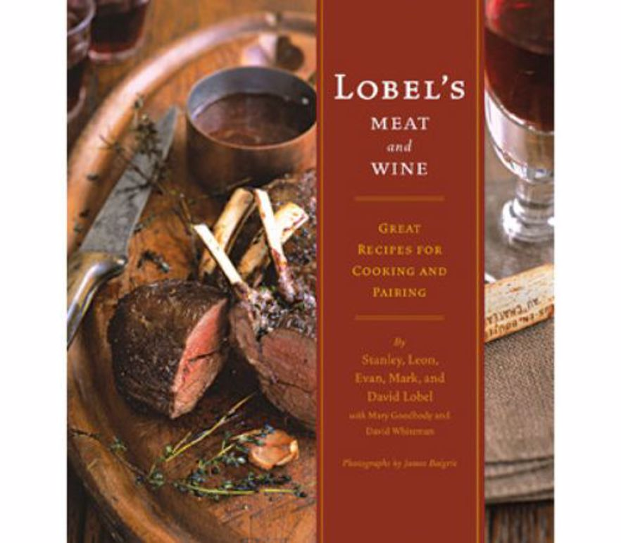 Picture of DISCONTINUED - Lobel's Meat and Wine: Great Recipes for Cooking and Pairing