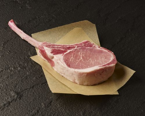 Picture of Berkshire Pork Long-Bone Rib Chop
