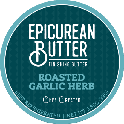 Epicurean Roasted Garlic Herb Butter