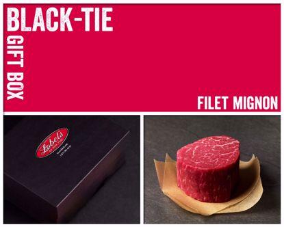 Black-Tie Gift Box: 4 (8 oz.) USDA Prime Filet Mignons