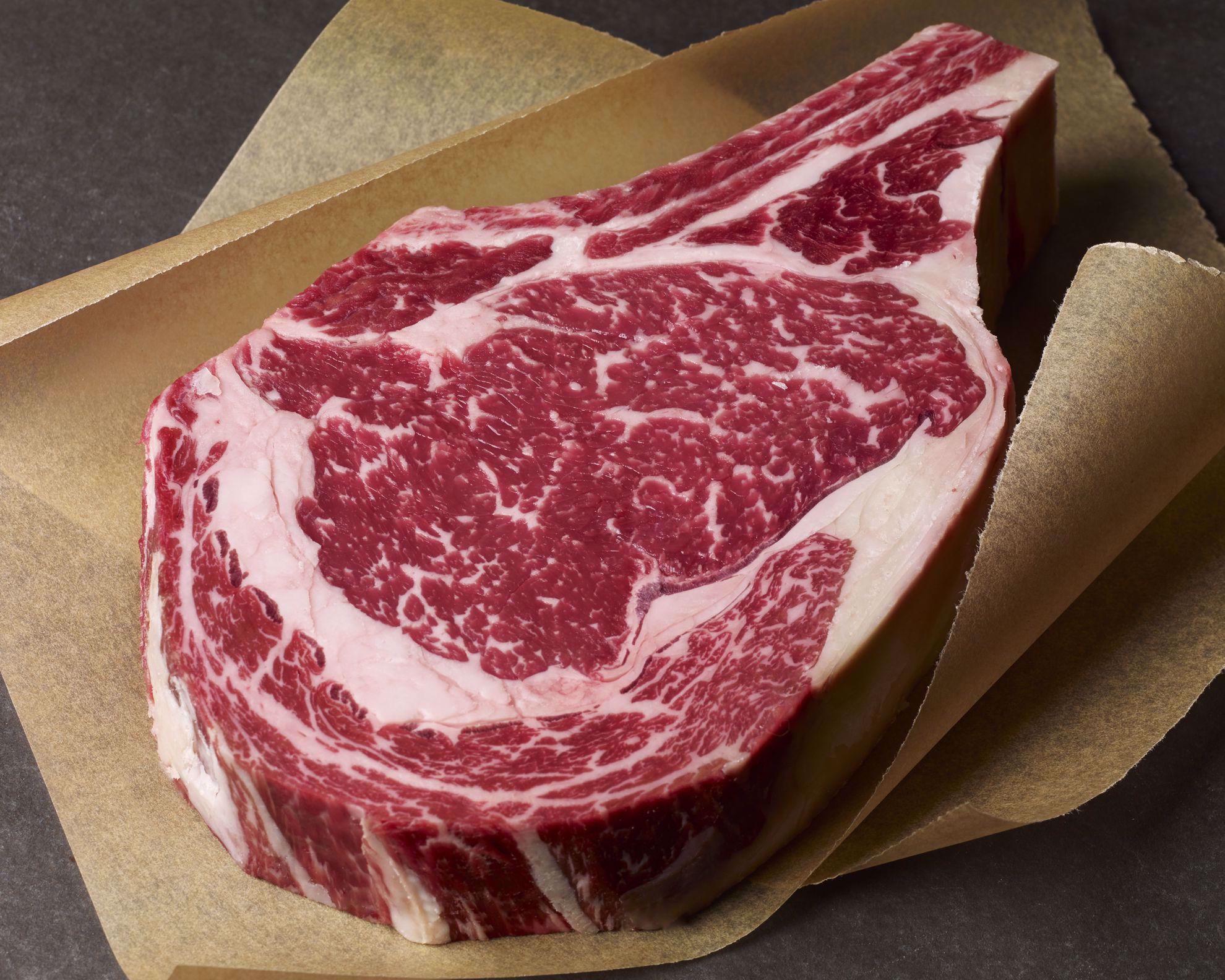 USDA Prime Dry-Aged Bone-In Rib Steak