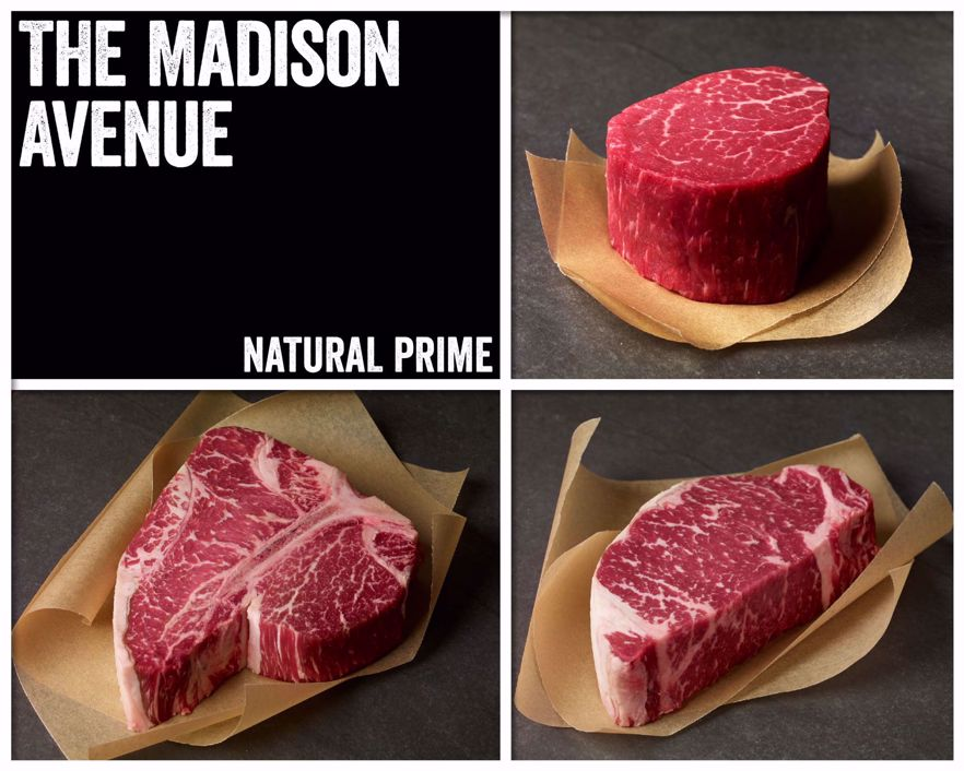 The Madison Avenue - Natural Prime Beef