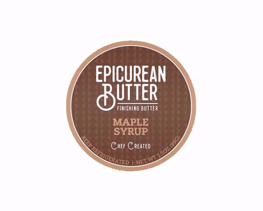 Epicurean Maple Syrup Butter Label