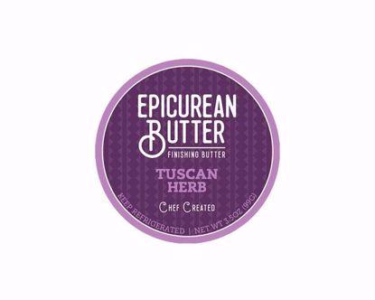 Epicurean Tuscan Herb Butter Label