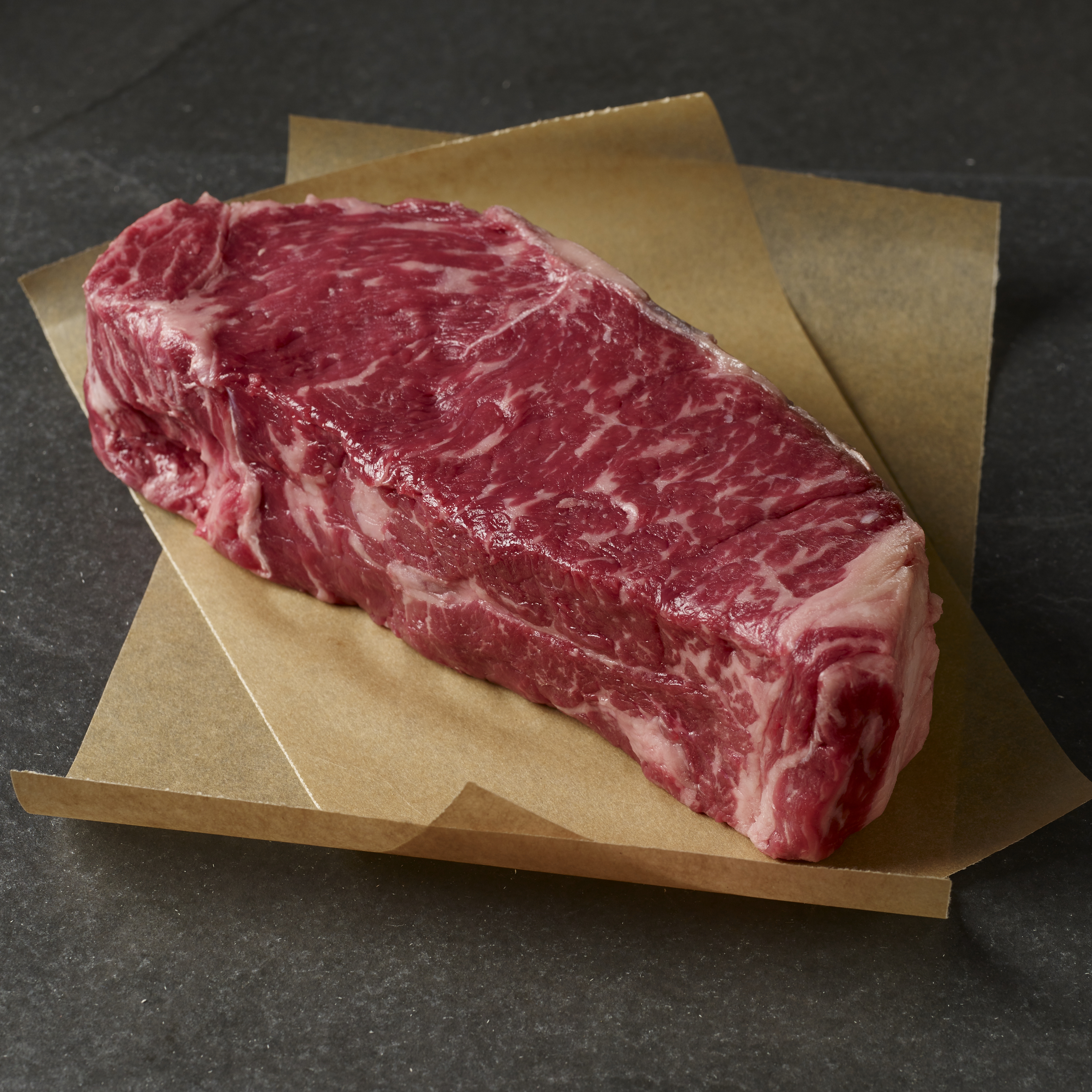USDA Prime Dry-Aged Boneless Double Strip Steak for Two