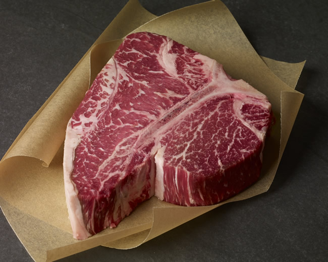 USDA PRIME DRY-AGED PORTERHOUSE STEAK
