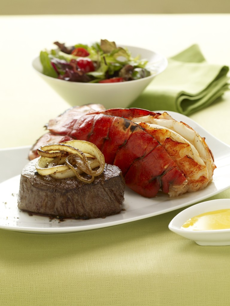 Surf and Turf - Lobster Tail and Filet