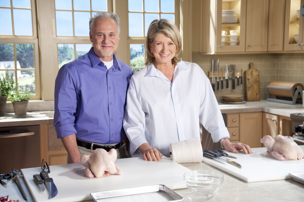Evan Lobel & Martha Stewart