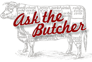 Ask the Butcher wordmark