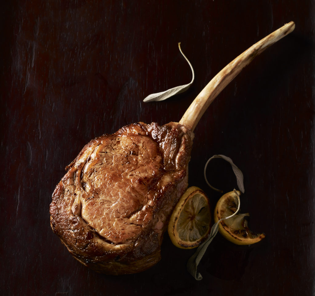 Veal Long Bone Rib Chop