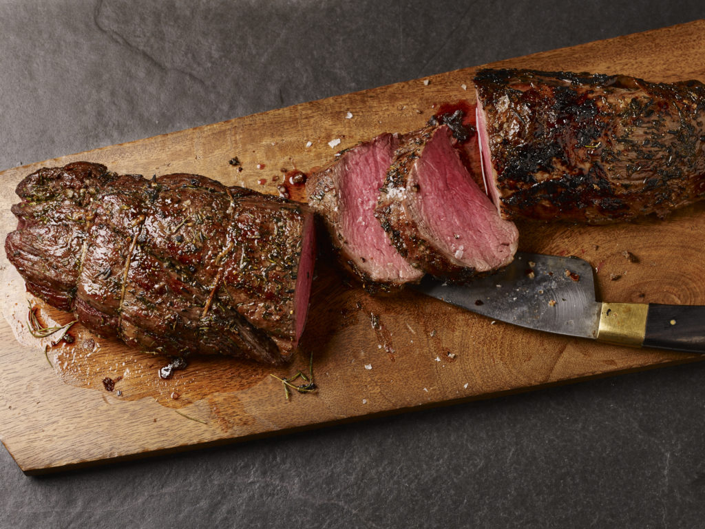 Beef Tenderloin Sliced Burnt Bits