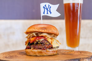Lobel's Meatloaf Burger at Yankee Stadium